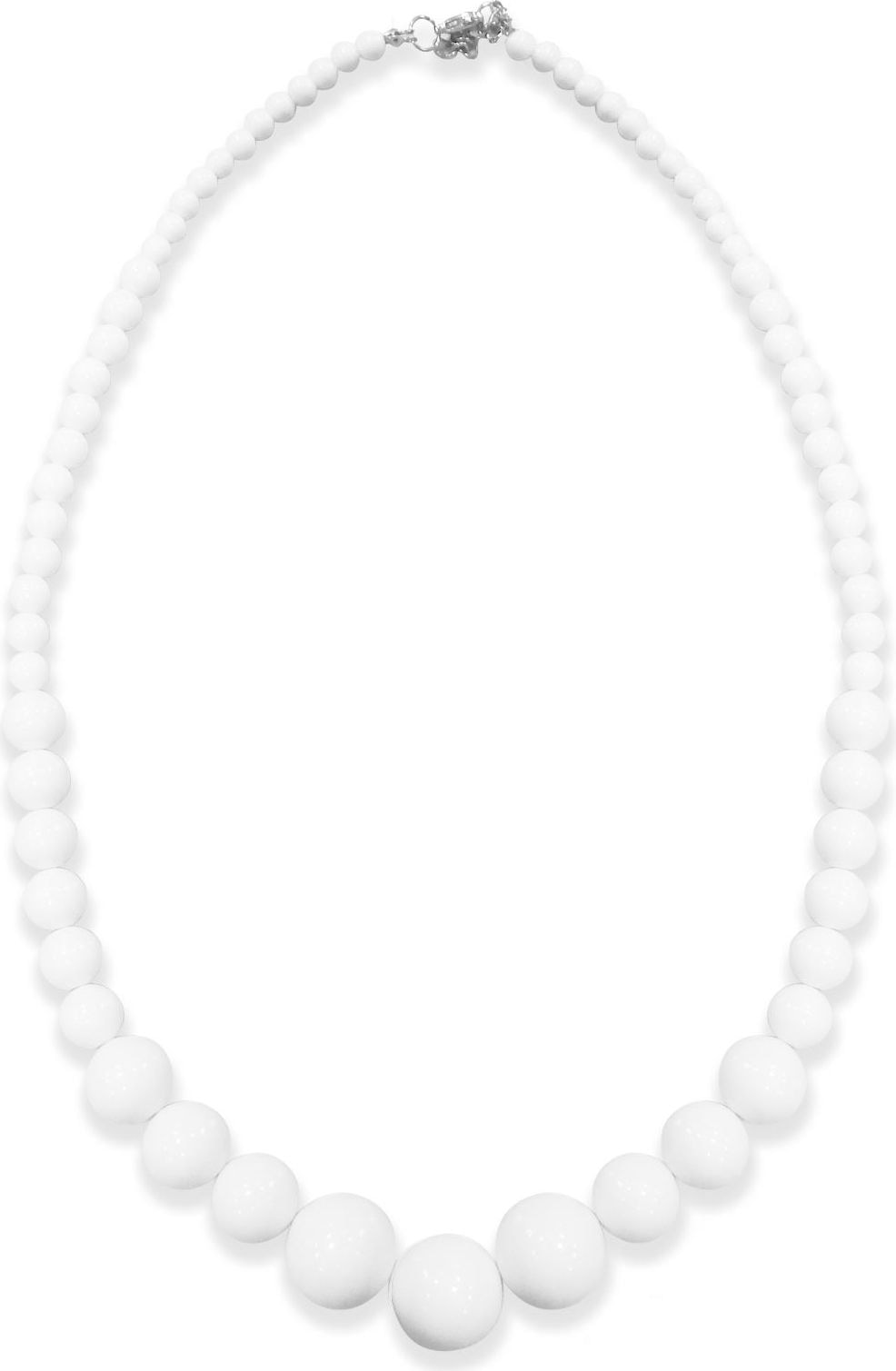 Witte 70s ketting