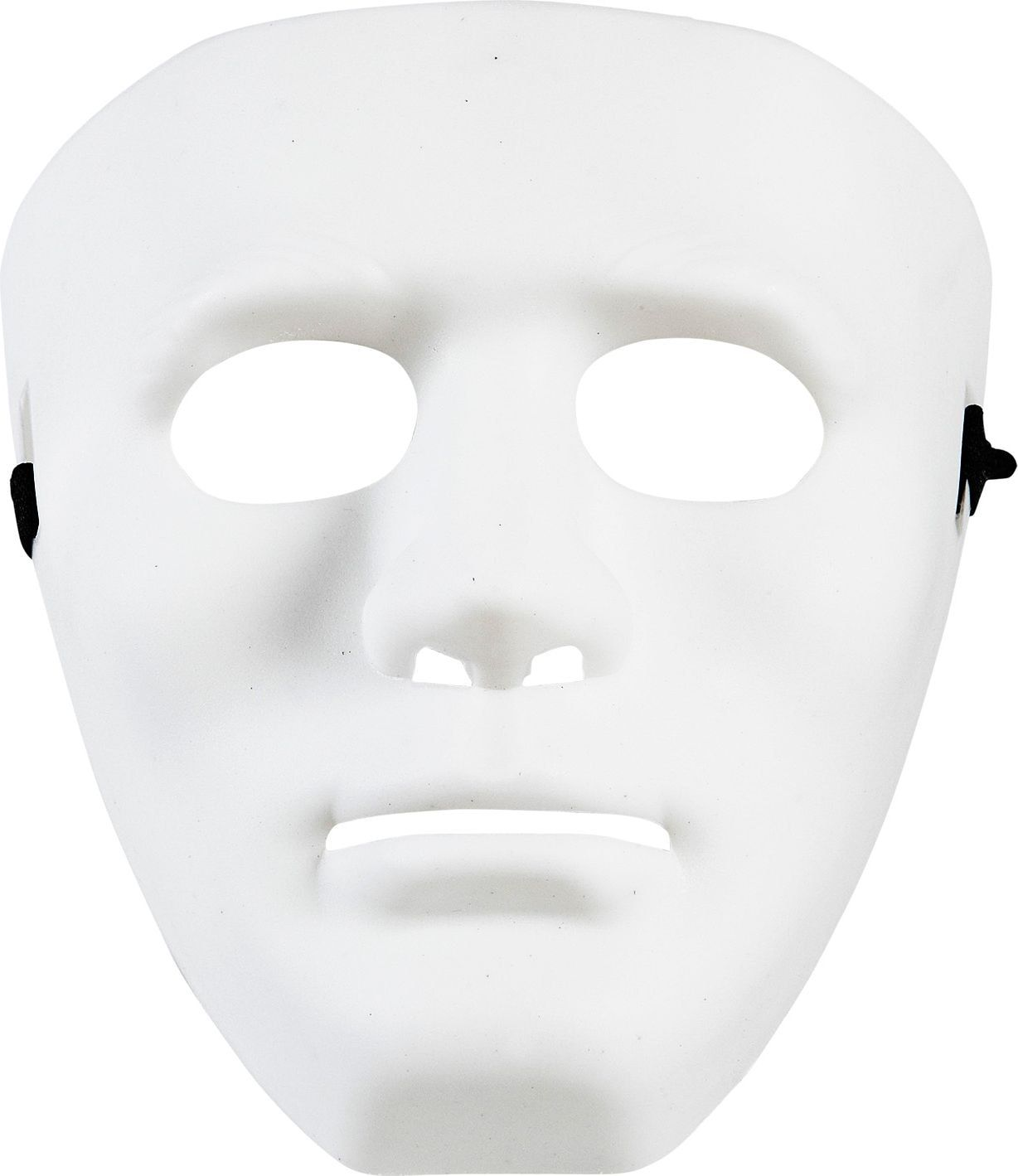 Witte anonymous masker