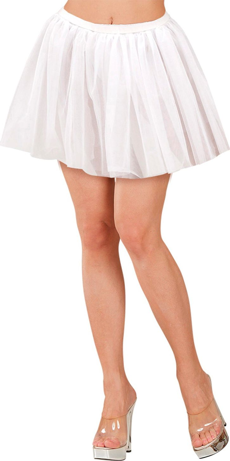 Witte ballerina rok