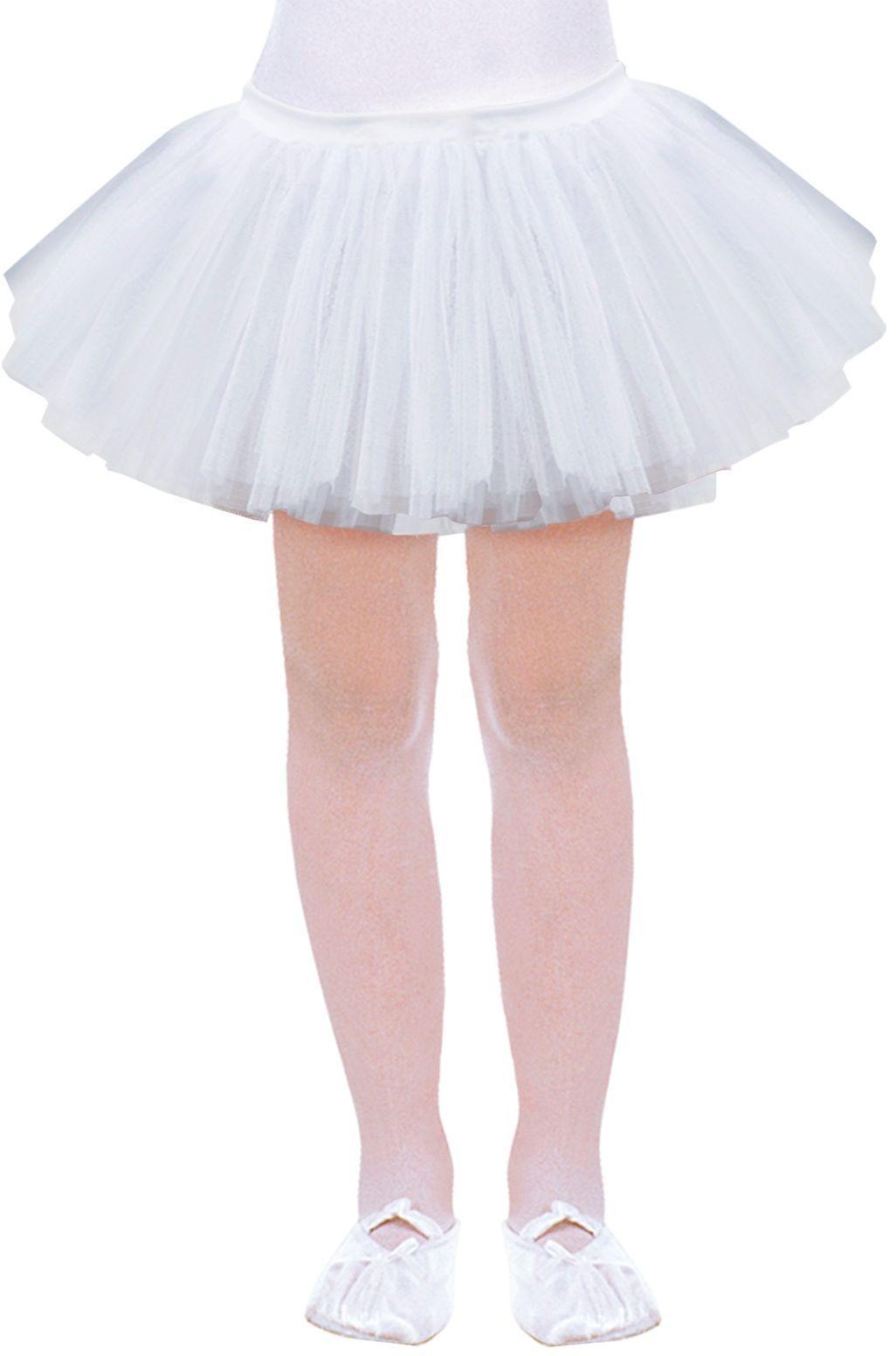 Witte ballerina rokje