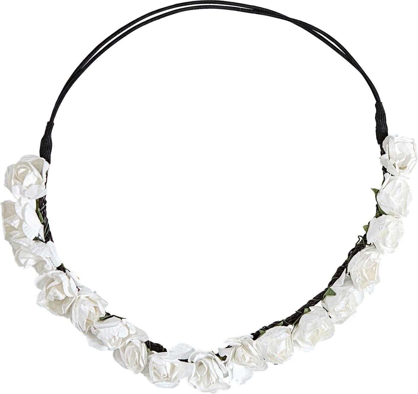 Witte bloemetjes hoofdband