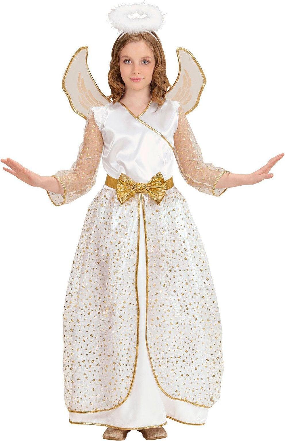 Witte engel jurkje kind