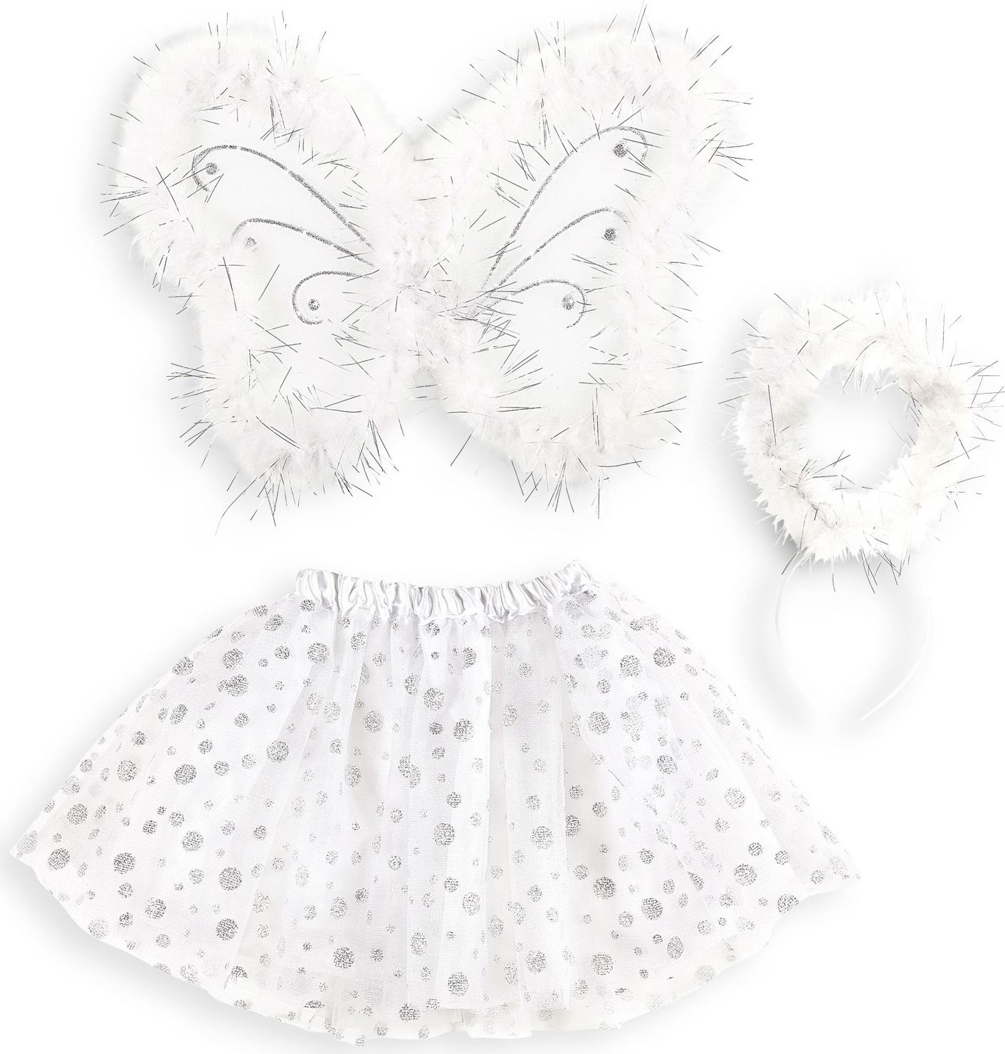 Witte engel set