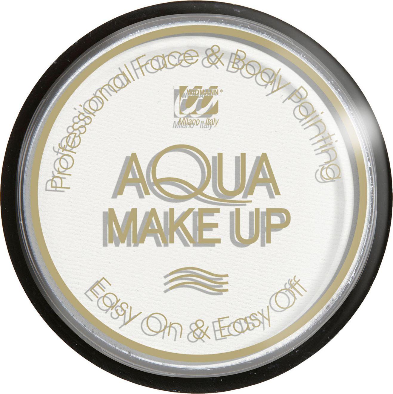 Witte make-up waterbasis