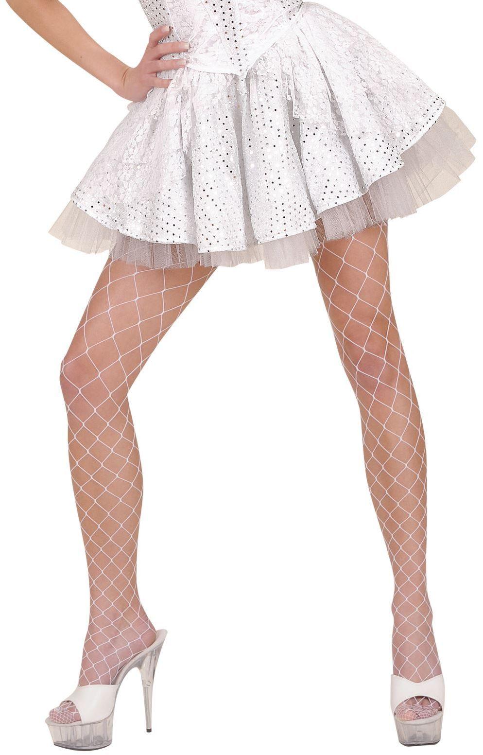 Witte rok met onderrok