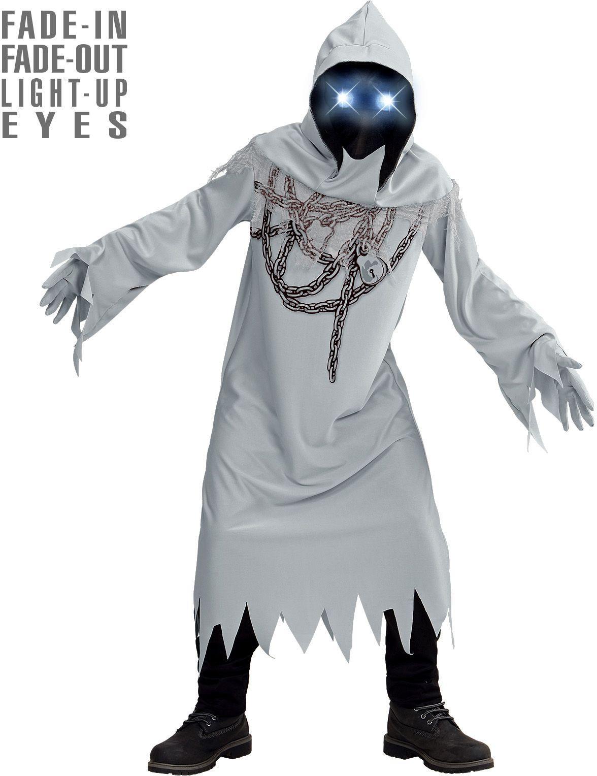 Witte spook halloween