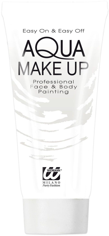 Witte waterbasis make-up tube