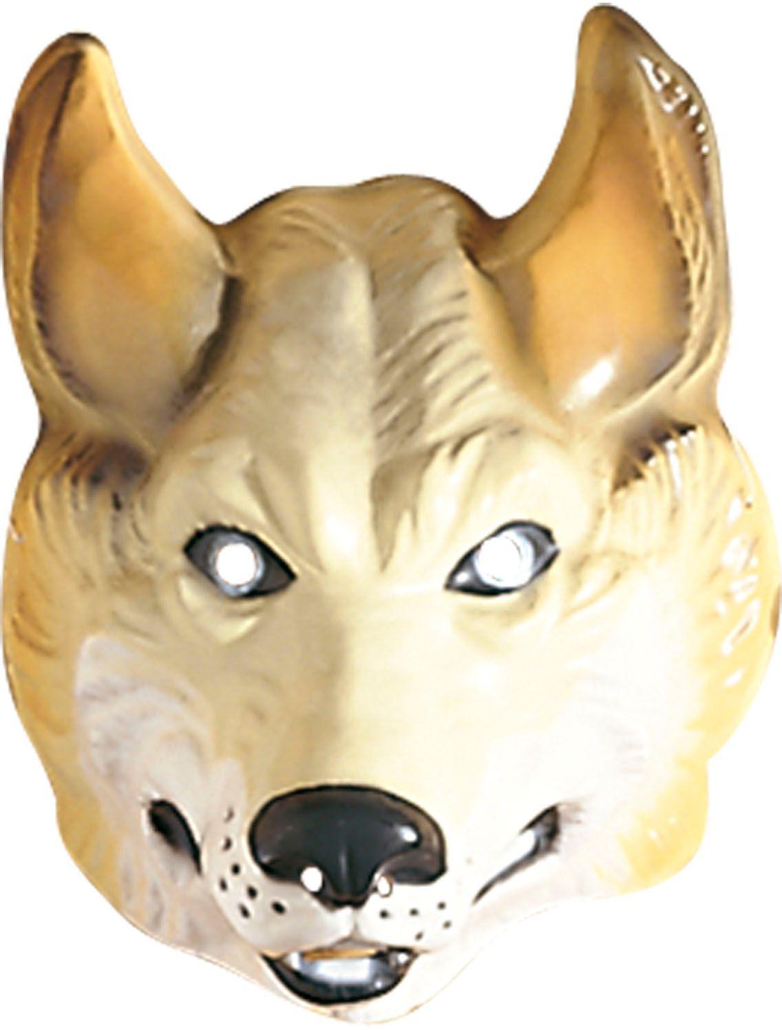 Wolf masker plastic
