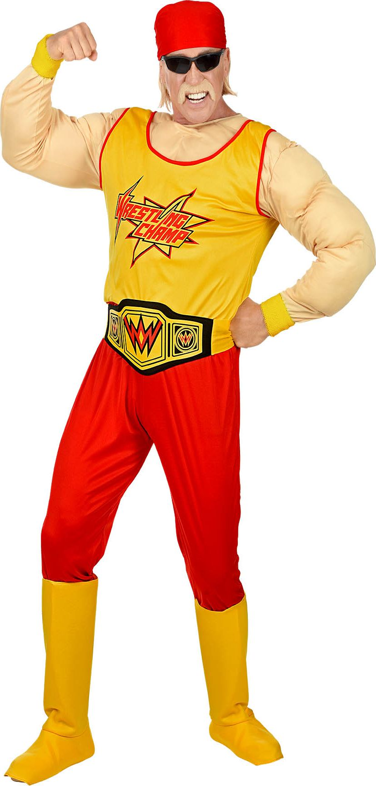 Worstelaar Hulk Hogan Pak