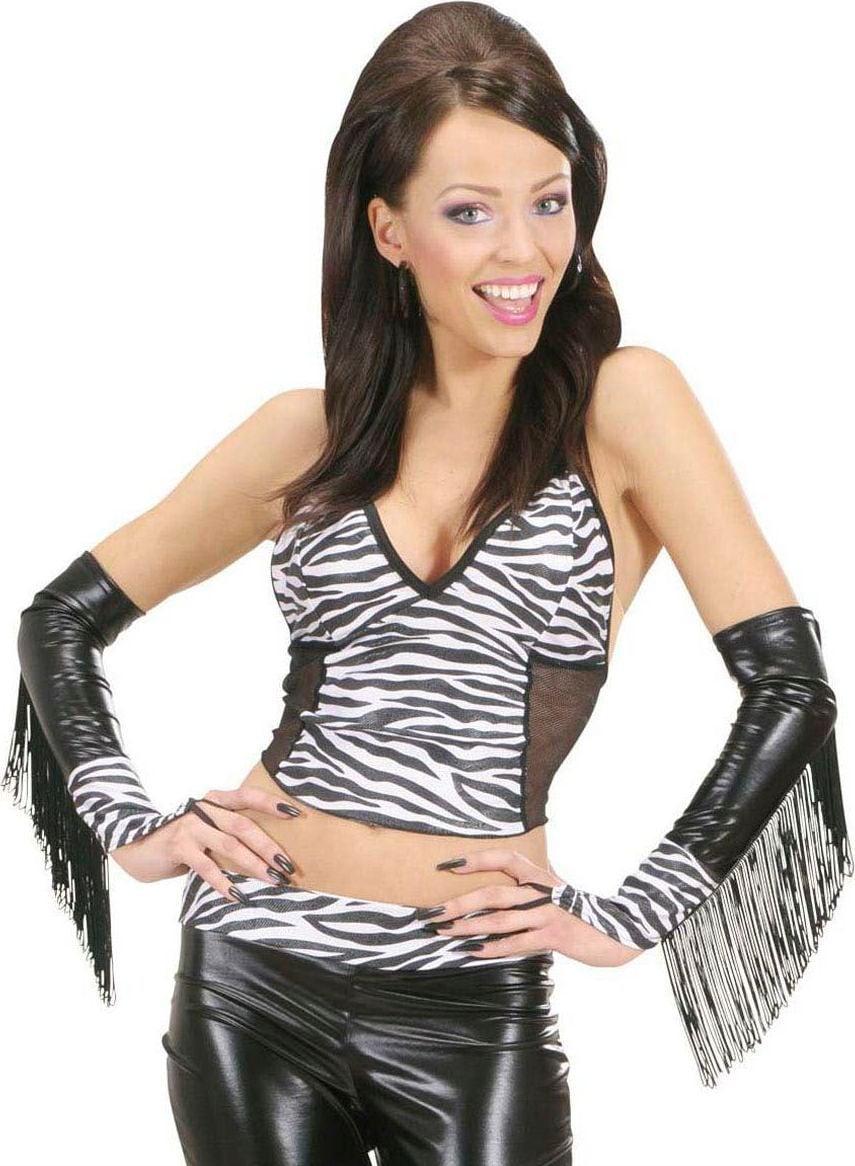 Zebra handschoenen