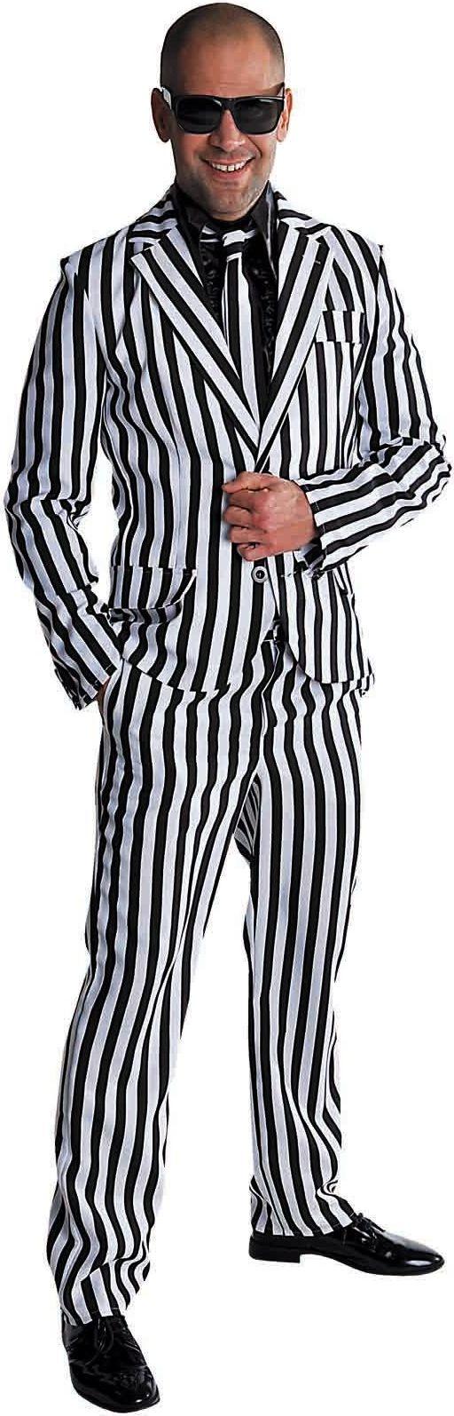Zebra maatpak disco man