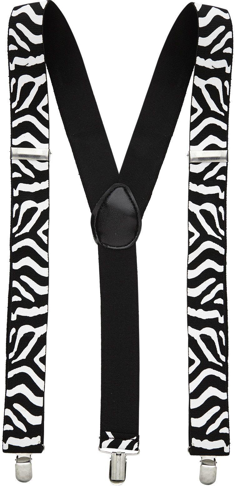 Zebra print riem