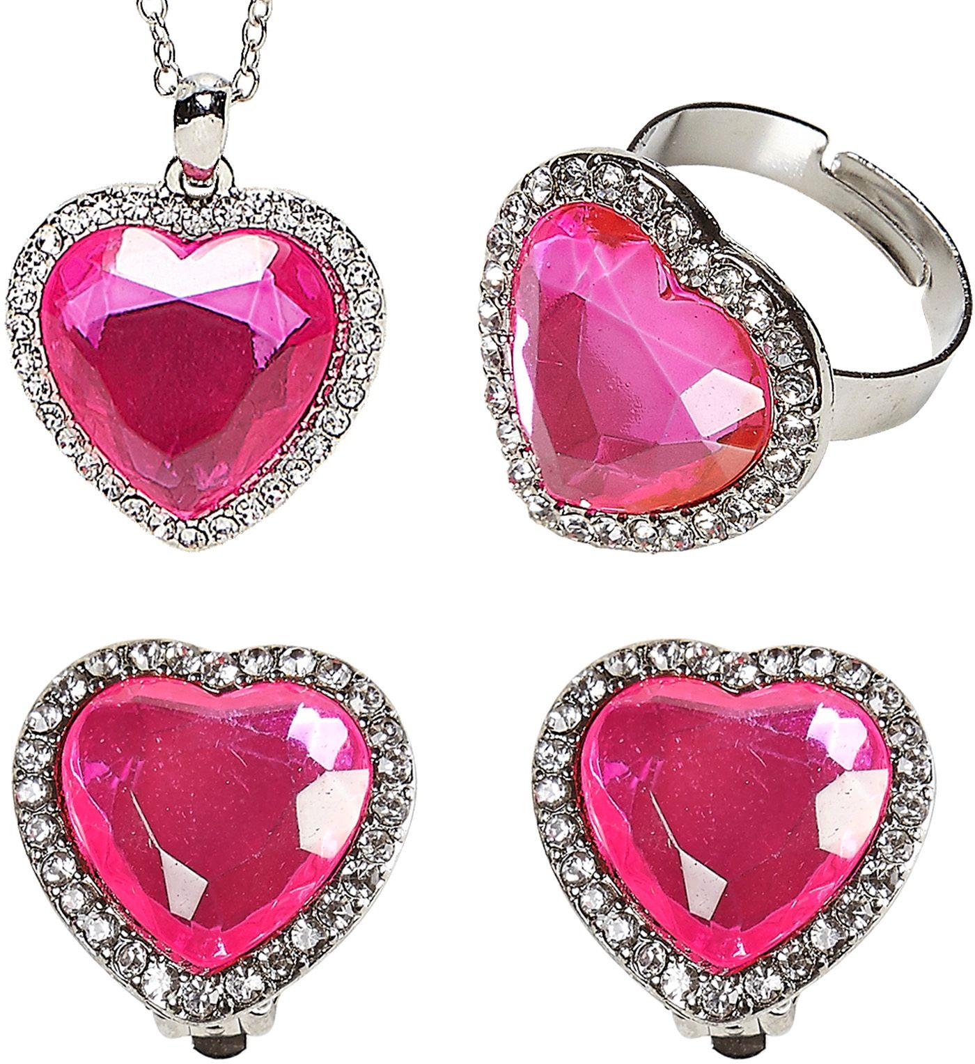 Zilveren sieraden met hartjes