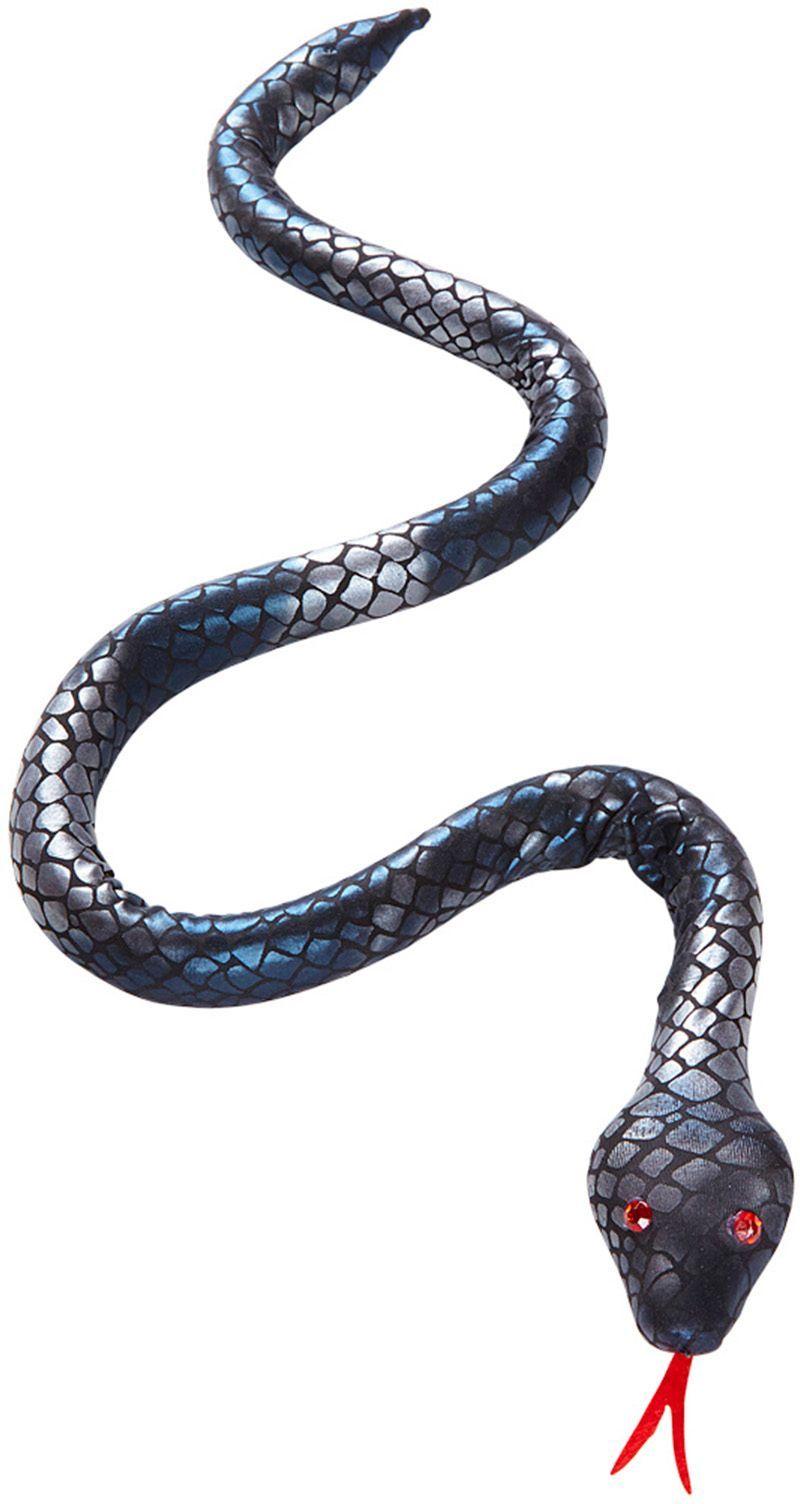 Zilveren slang buigbaar