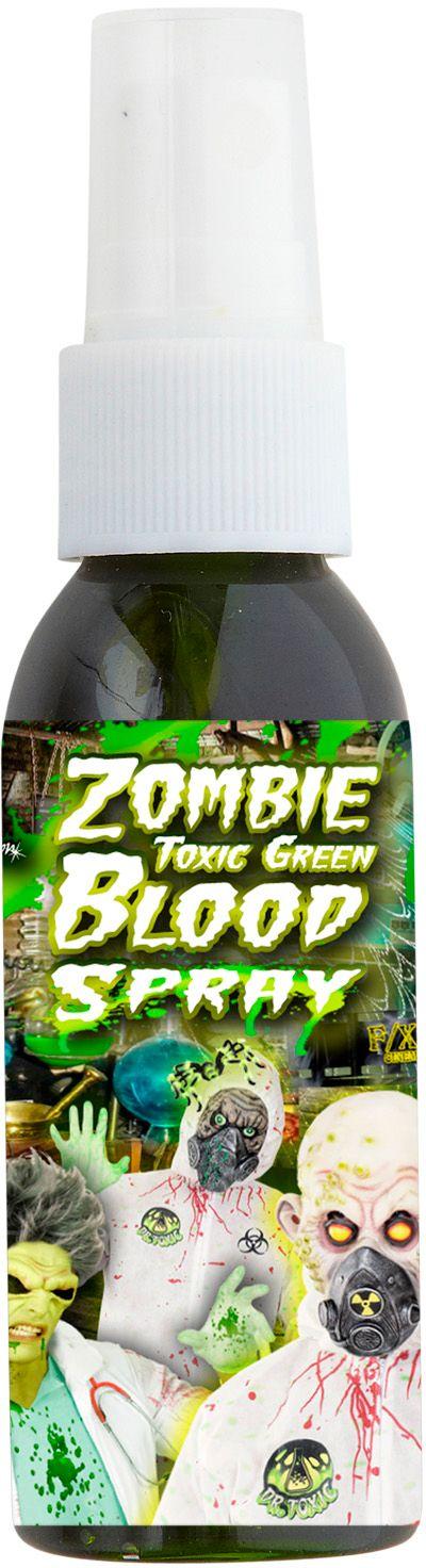 Zombie bloed spray groen