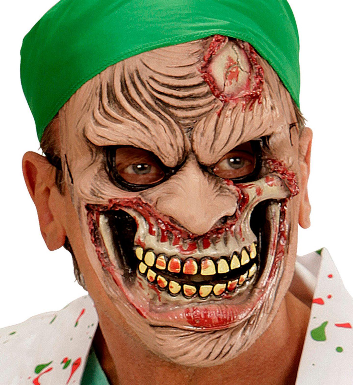 Zombie chirurg masker