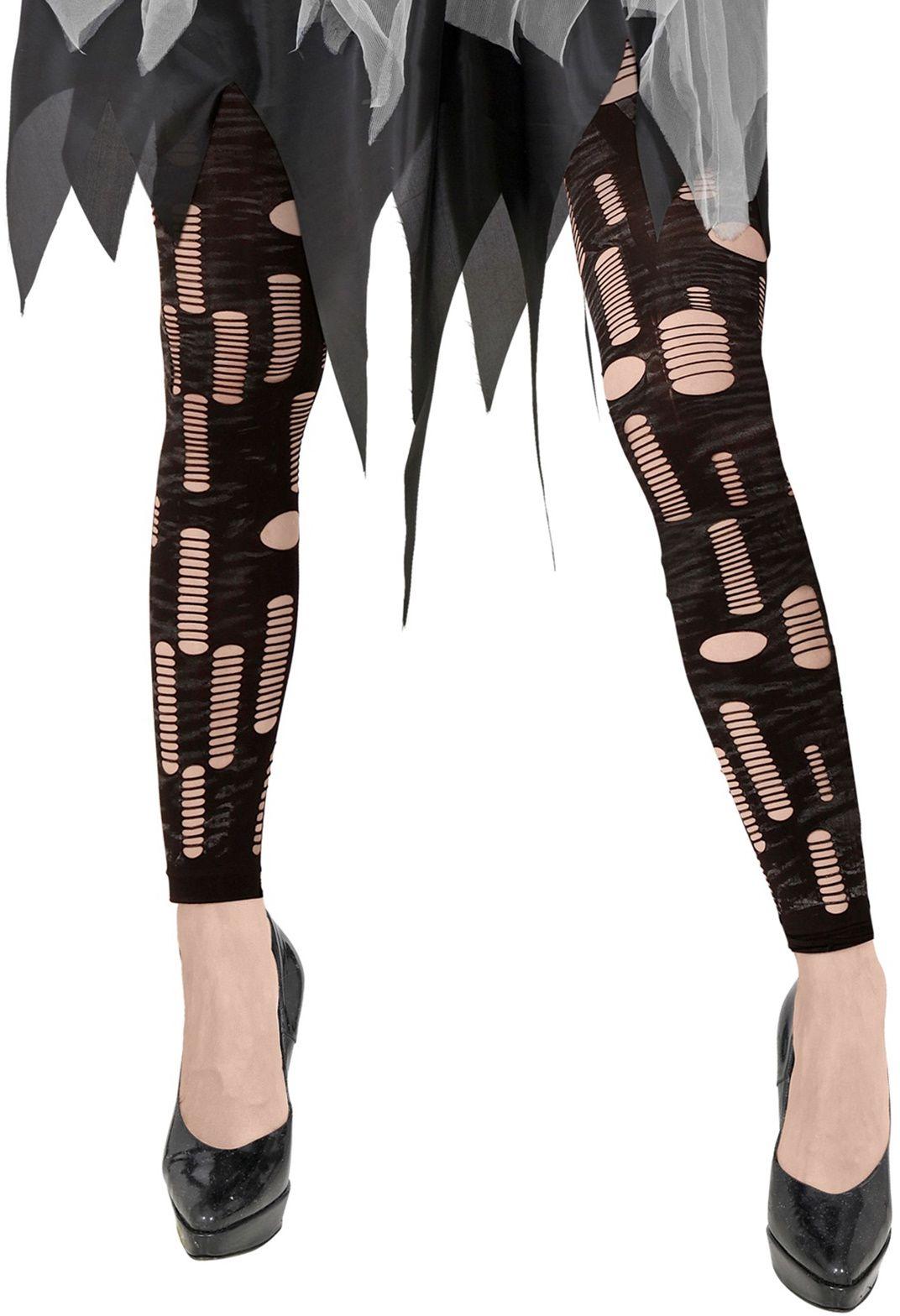 Zombie halloween gescheurde legging