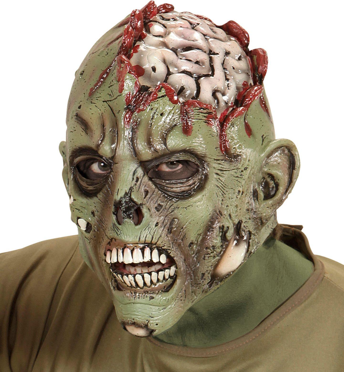 Zombie hersenen masker