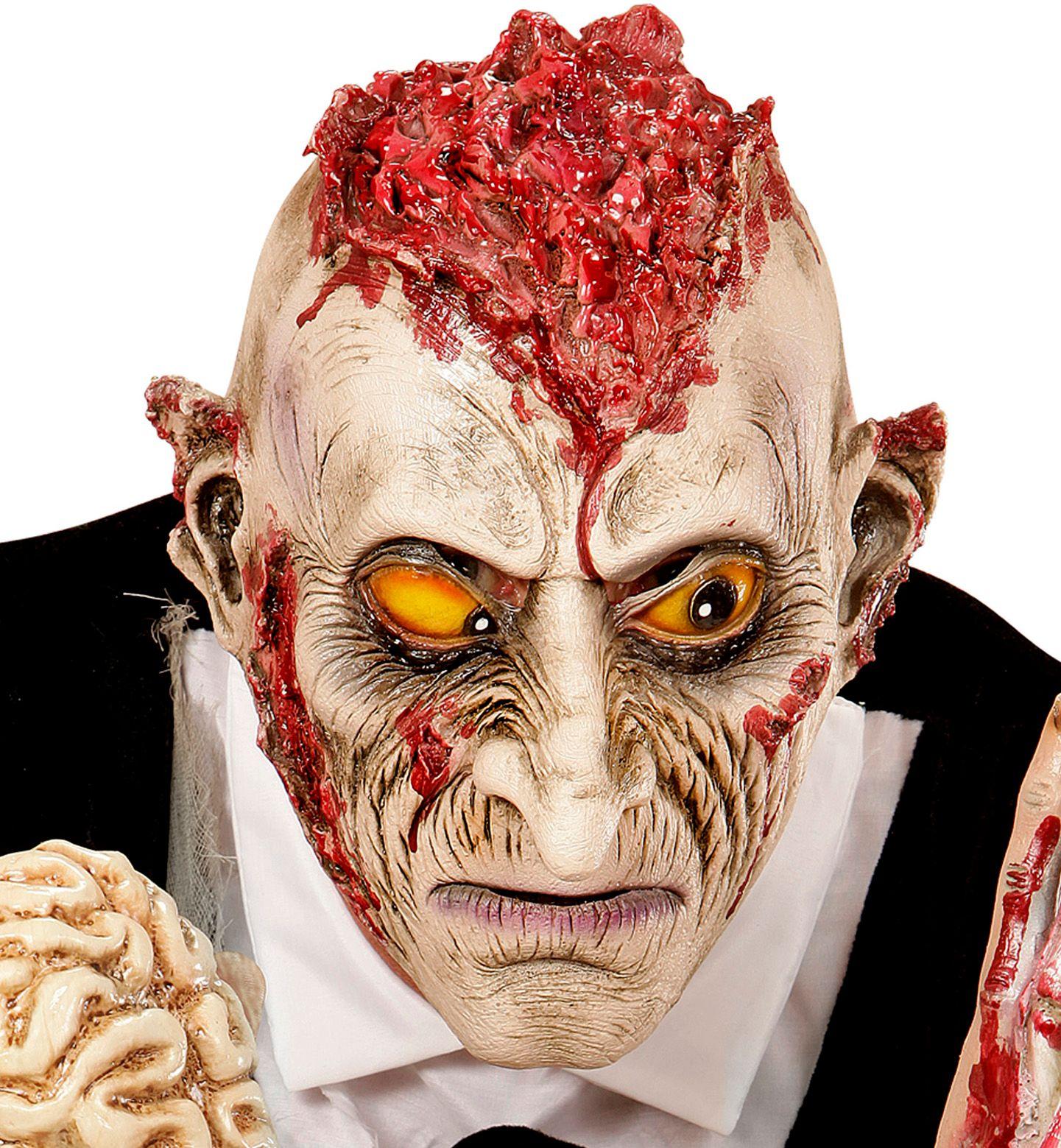 Zombie maniac masker