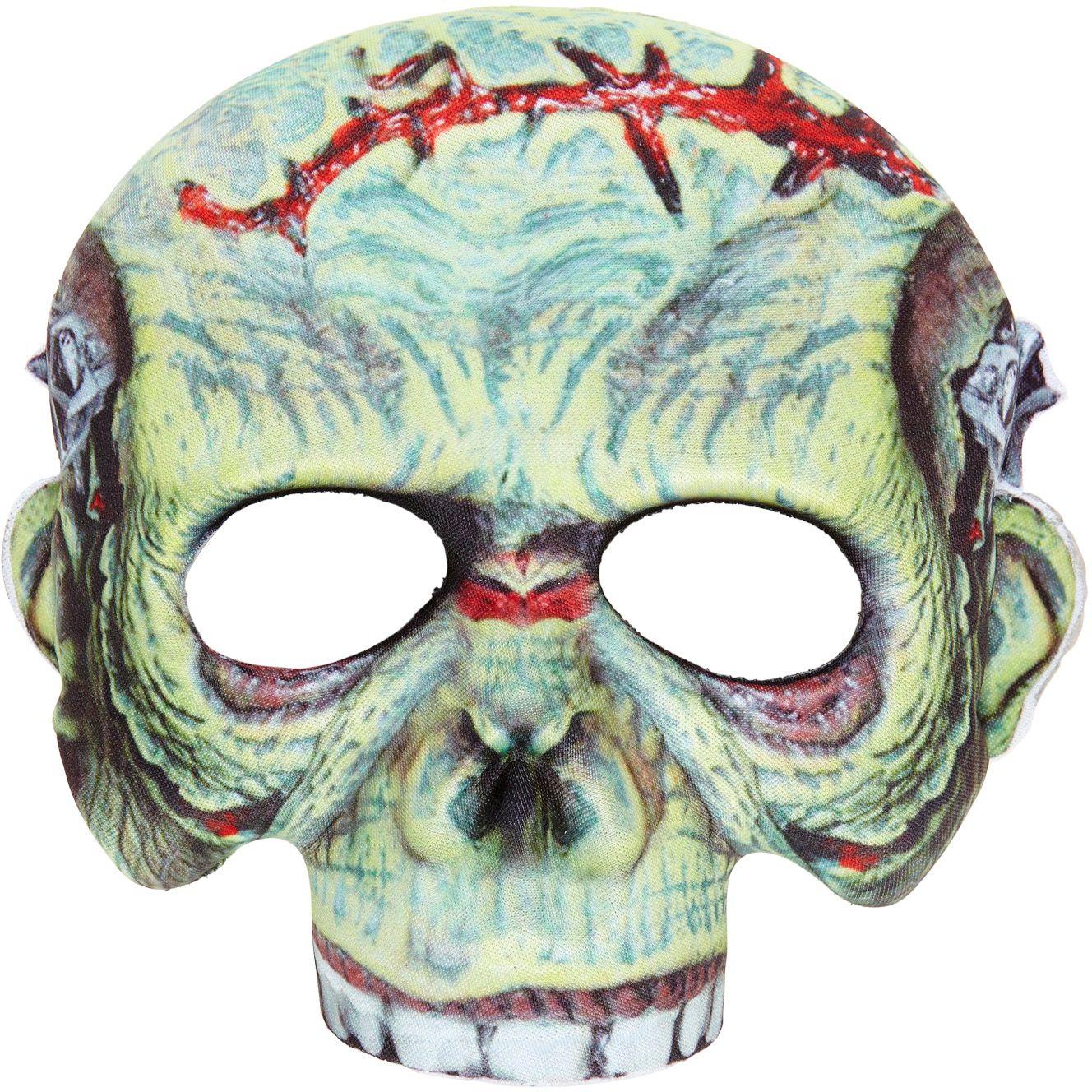 Zombie masker zonder kin