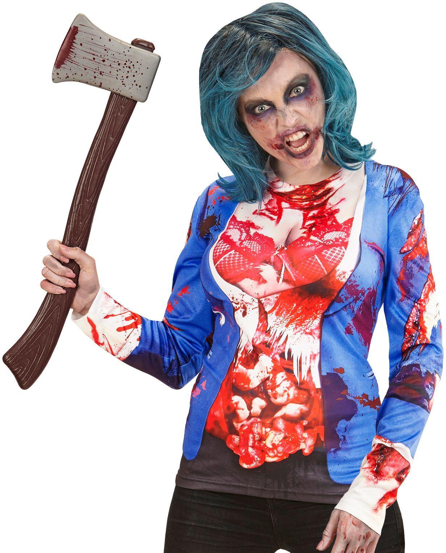 Zombie shirt dames