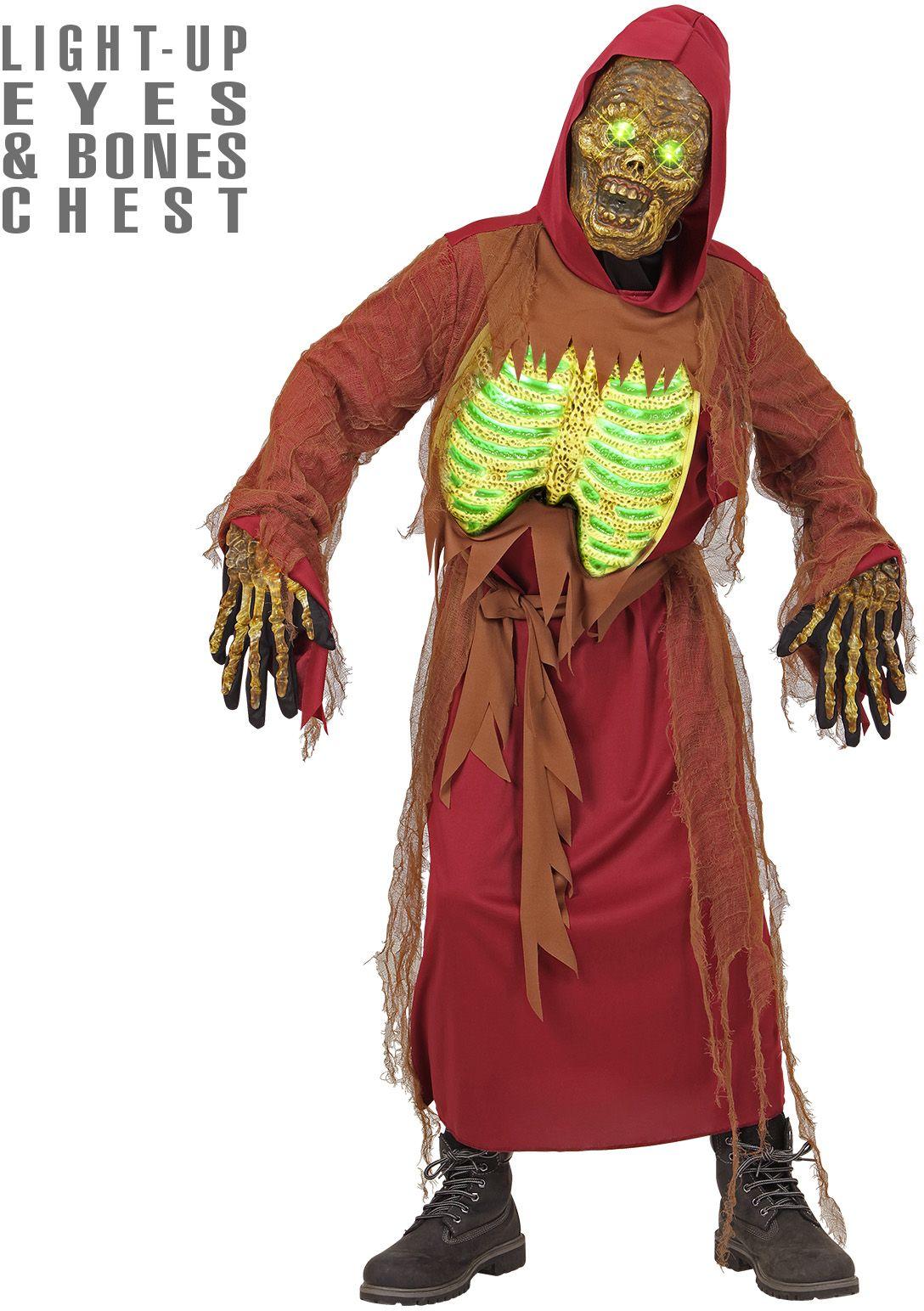 Zombie skelet pak