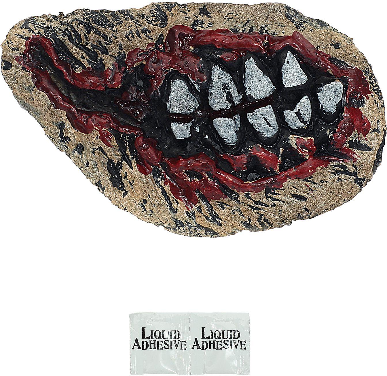 Zombie tanden bloed halloween