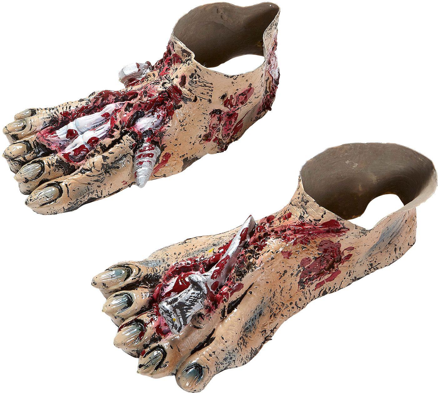 Zombie voeten schoenbedekkers