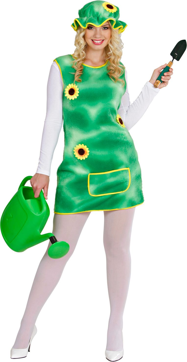Zonnebloem jurk