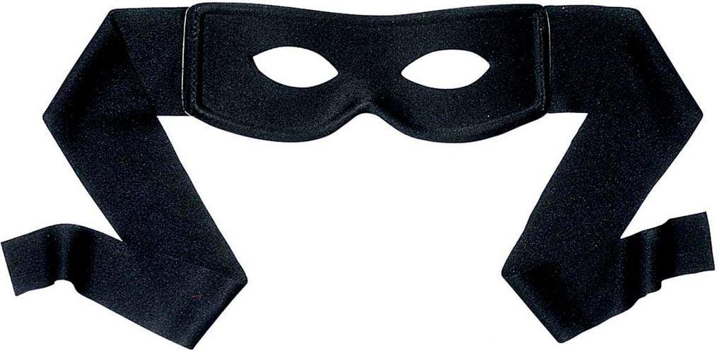 Zorro oogmasker zwart