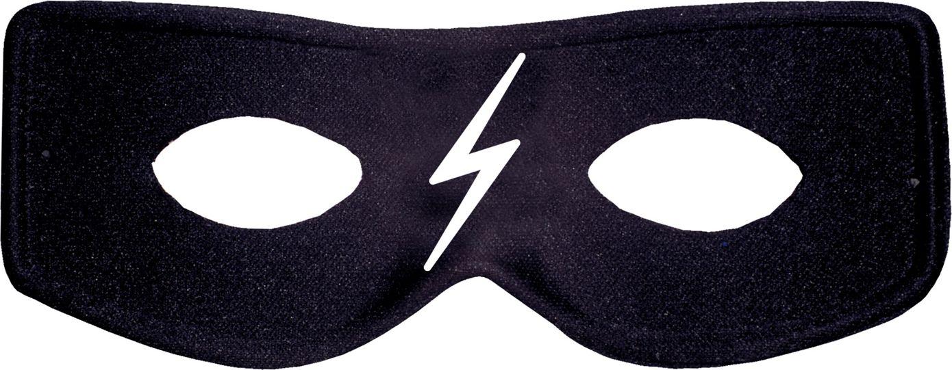 Zorro oogmasker zwart kind