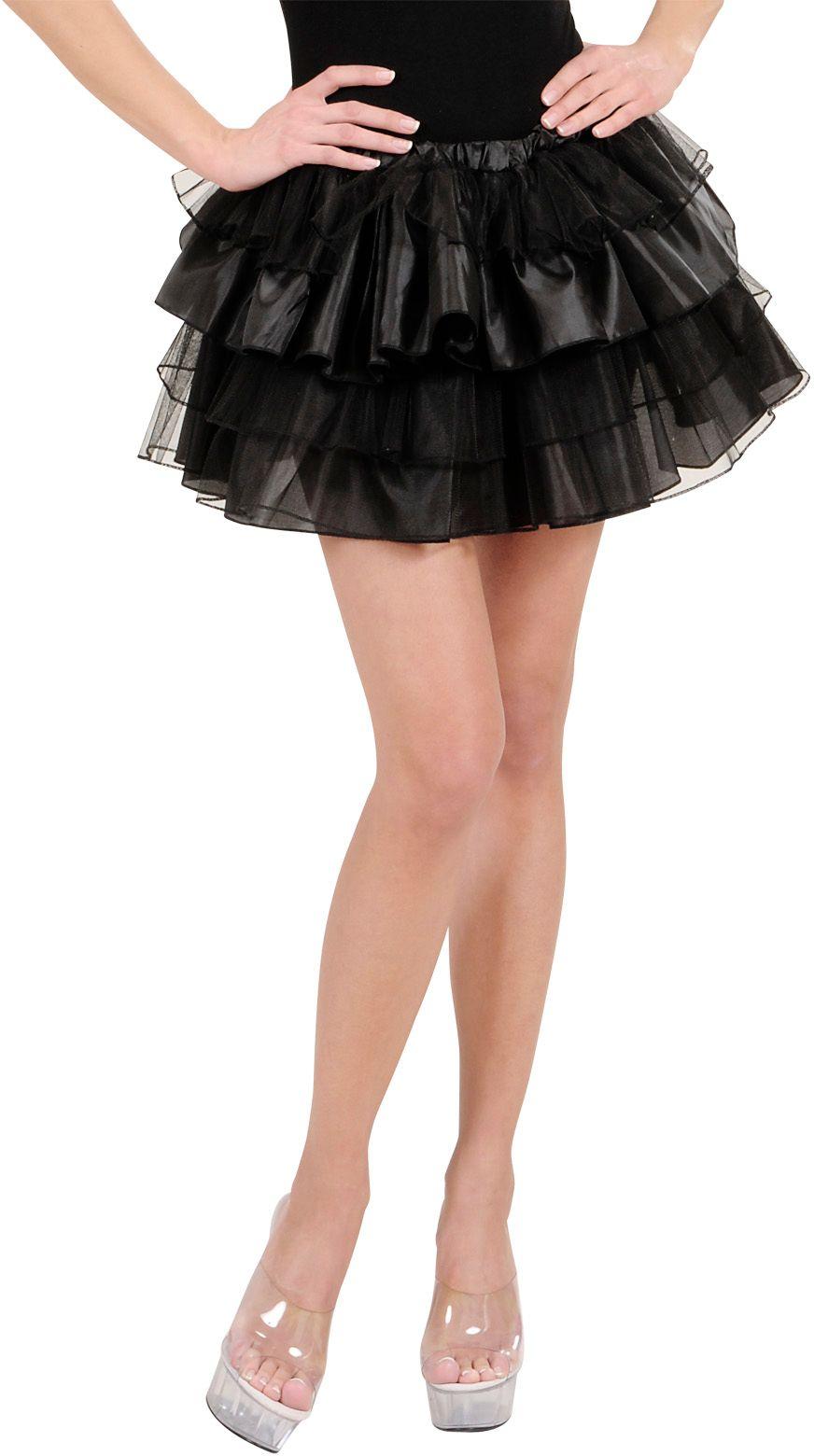 Zwart danseres rokje