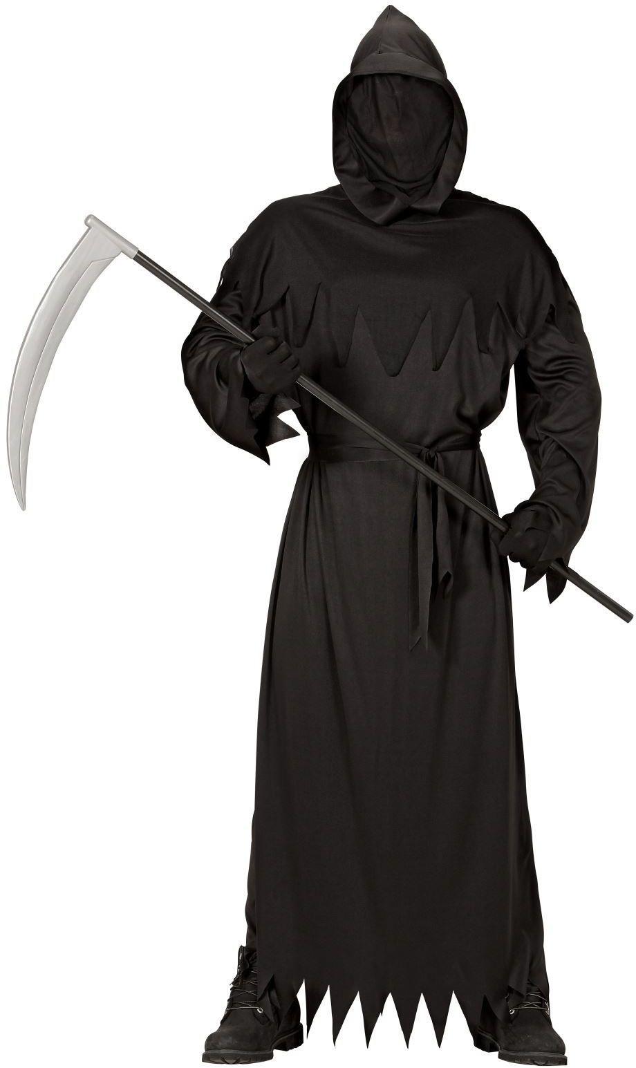 Zwart Grim Reaper gewaad