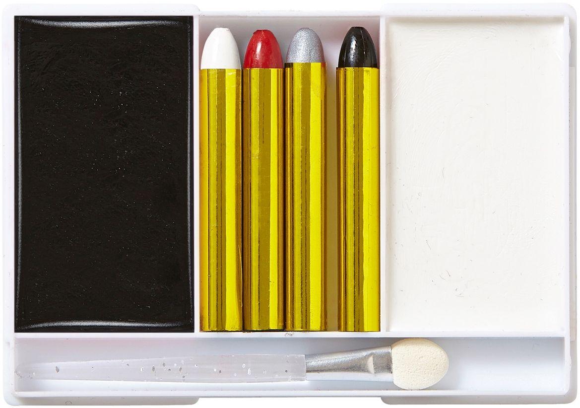 Zwart-witte schmink set