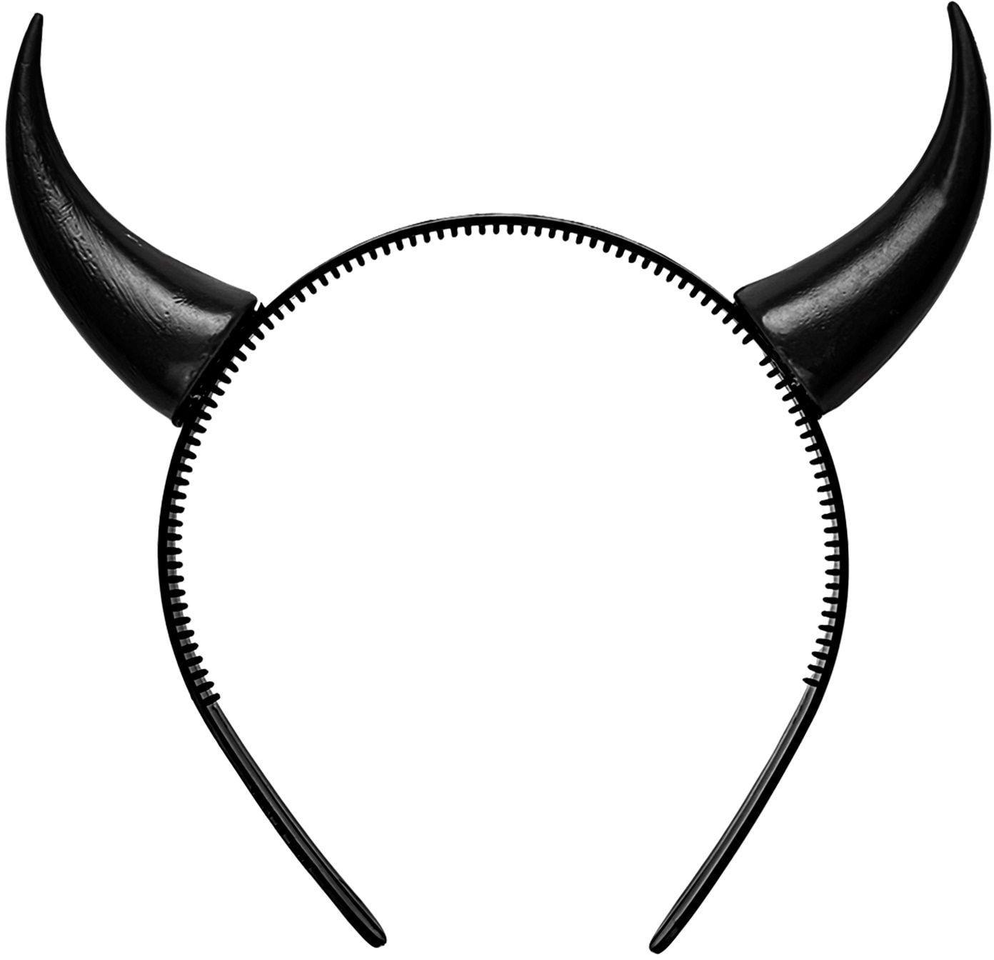 Zwarte duivel hoorntjes