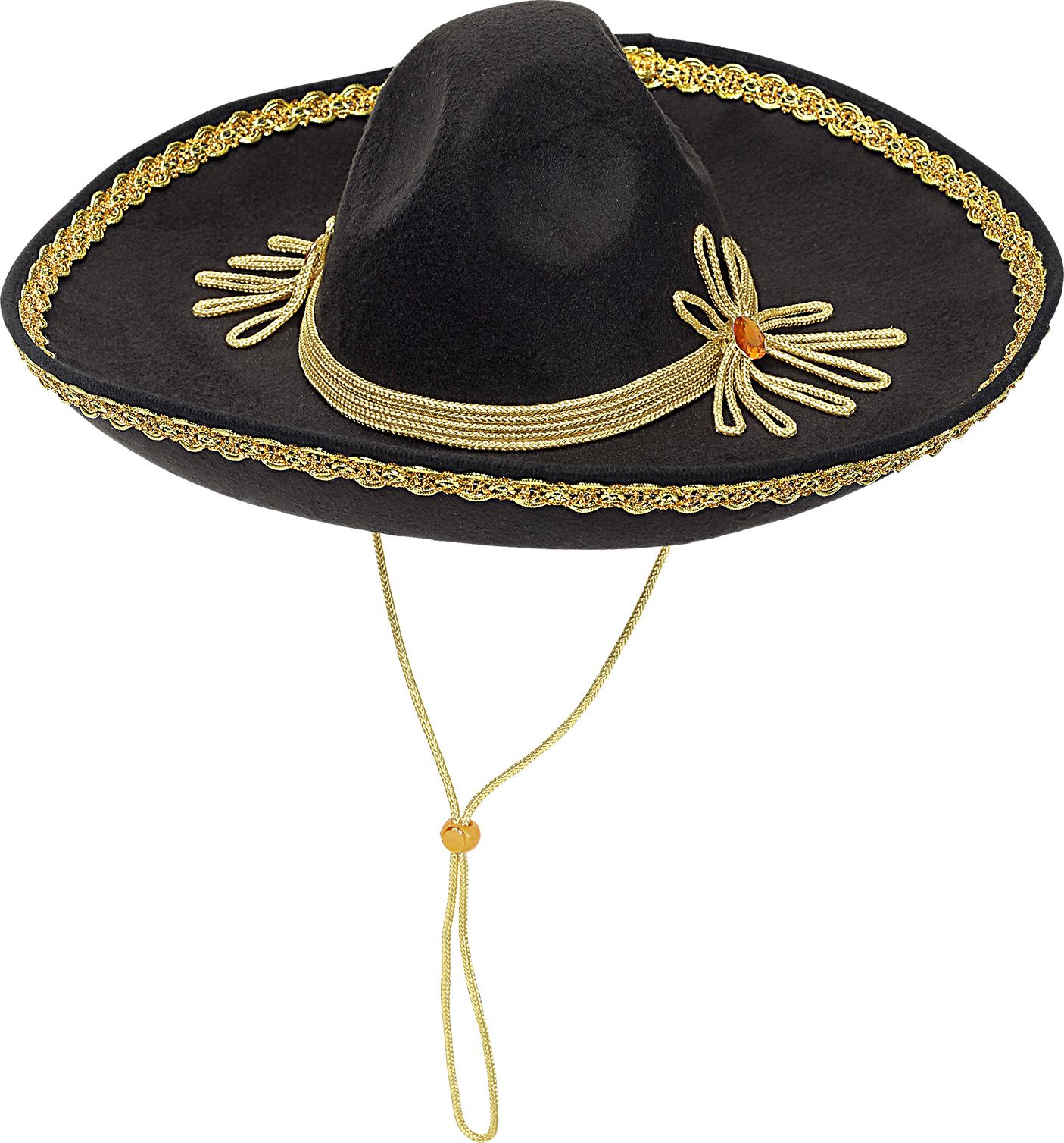 Zwarte hoed Mexicaan