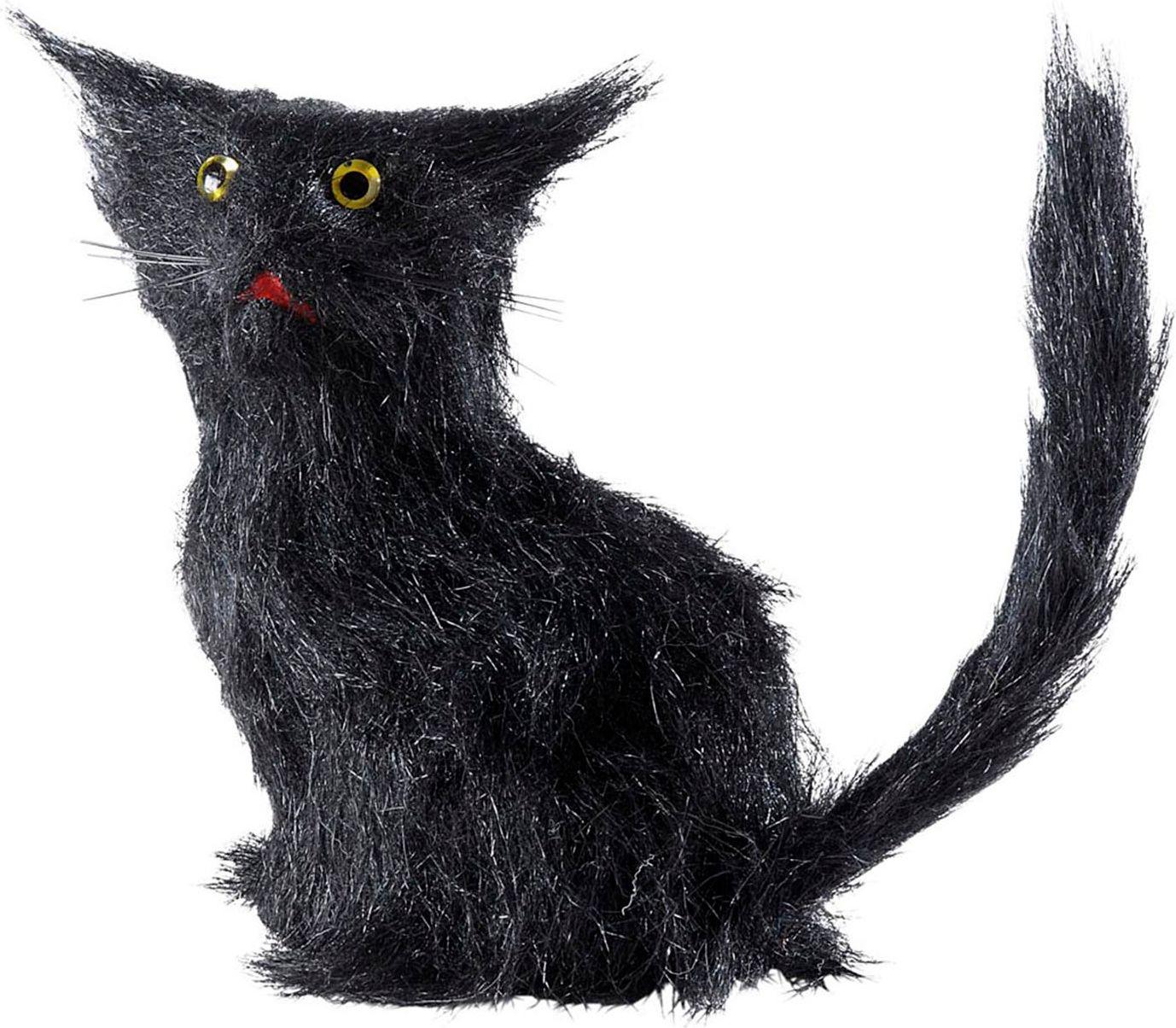 Zwarte kattenset 12 stuks