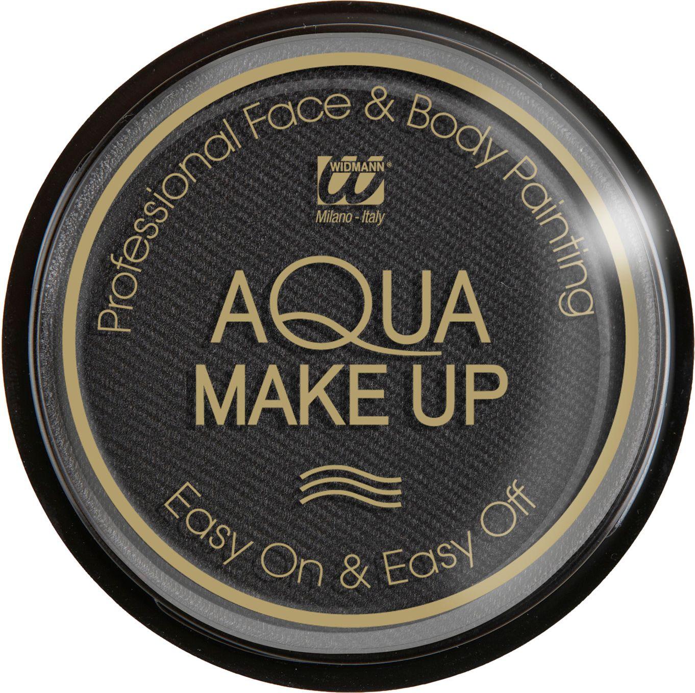 Zwarte make-up waterbasis