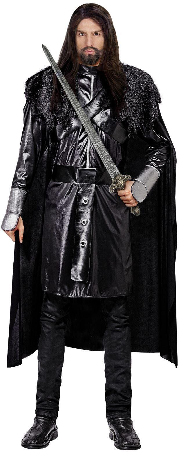 Zwarte ridderpak