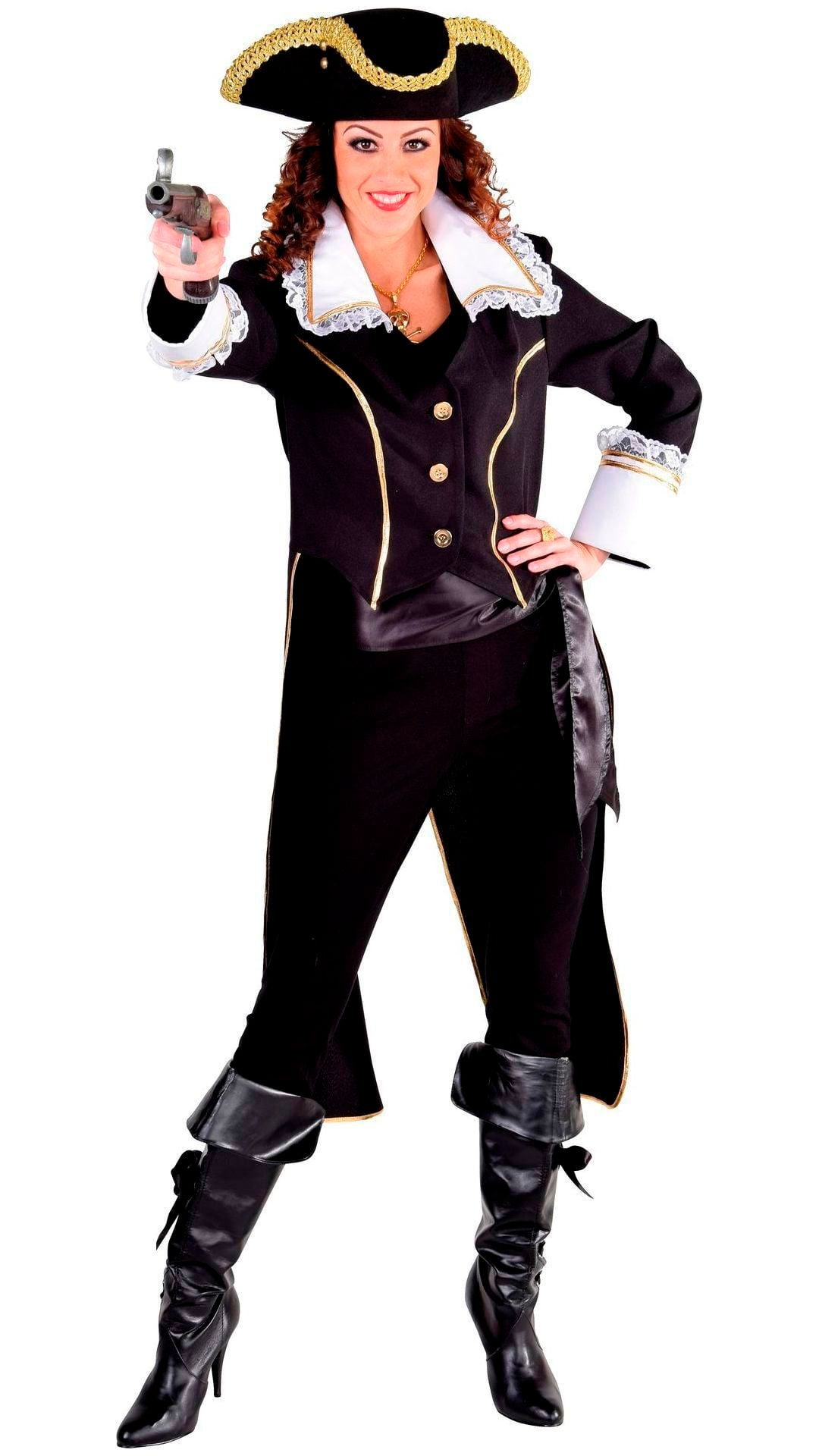 Zwarte slipjas admiraal vrouwen