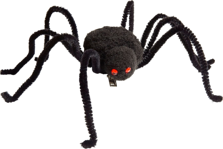 Zwarte spin haarspeld