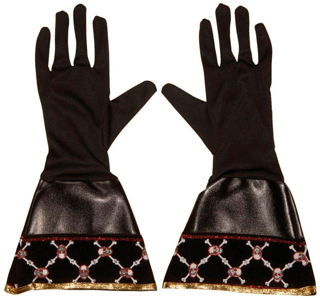 Zwarte zeerovers handschoenen